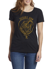 Desert Son Women's Tees - BLACK BEAR WOMEN'S TEE (FINAL SALE)