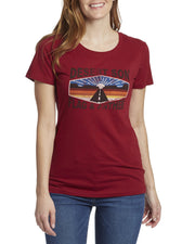 Desert Son Women's Tees - ROUTE 89 WOMEN'S TEE (FINAL SALE)
