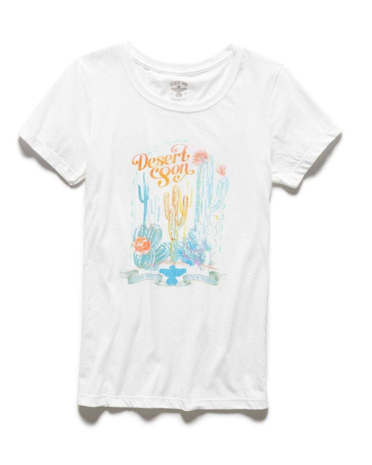 SONORAN DESERT WATERCOLOR WOMEN'S TEE (FINAL SALE)
