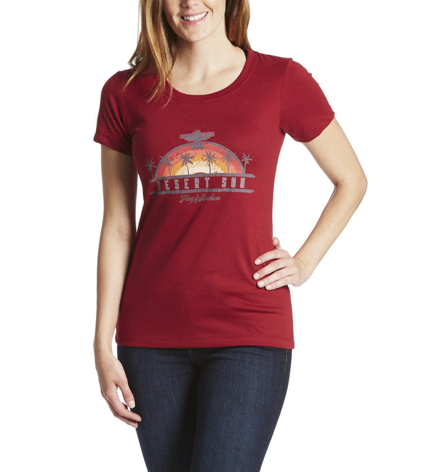 Desert Son Women's Tees - SUNRISER WOMEN'S TEE (FINAL SALE)