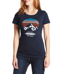 Desert Son Women's Tees - SUNSET PEAK WOMEN'S TEE