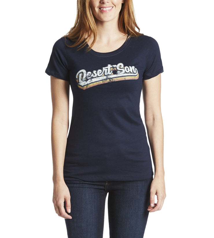 Desert Son Women's Tees - VARSITY SCRIPT WOMEN'S TEE (FINAL SALE)