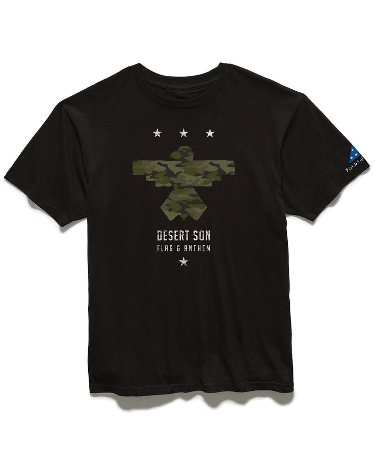 FOLDS OF HONOR CAMO RISER TEE