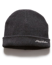 Hats - BROOKHAVEN BEANIE - CHARCOAL
