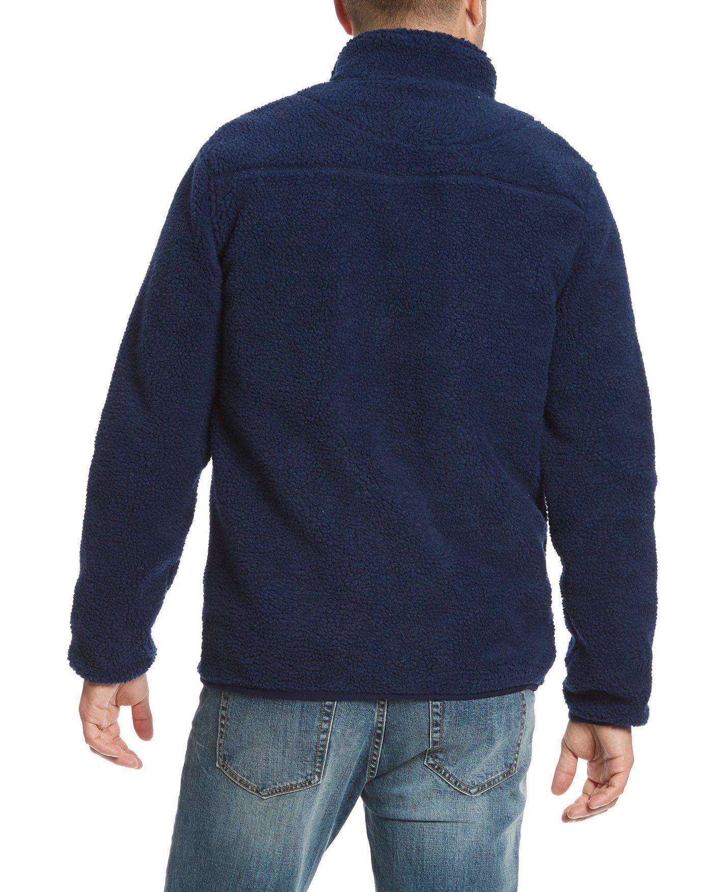 Jackets - VINSON SHERPA JACKET - NAVY