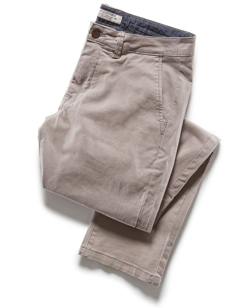 Pants - CASTLETON CHINO - NASHVILLE STRAIGHT - FROST GREY