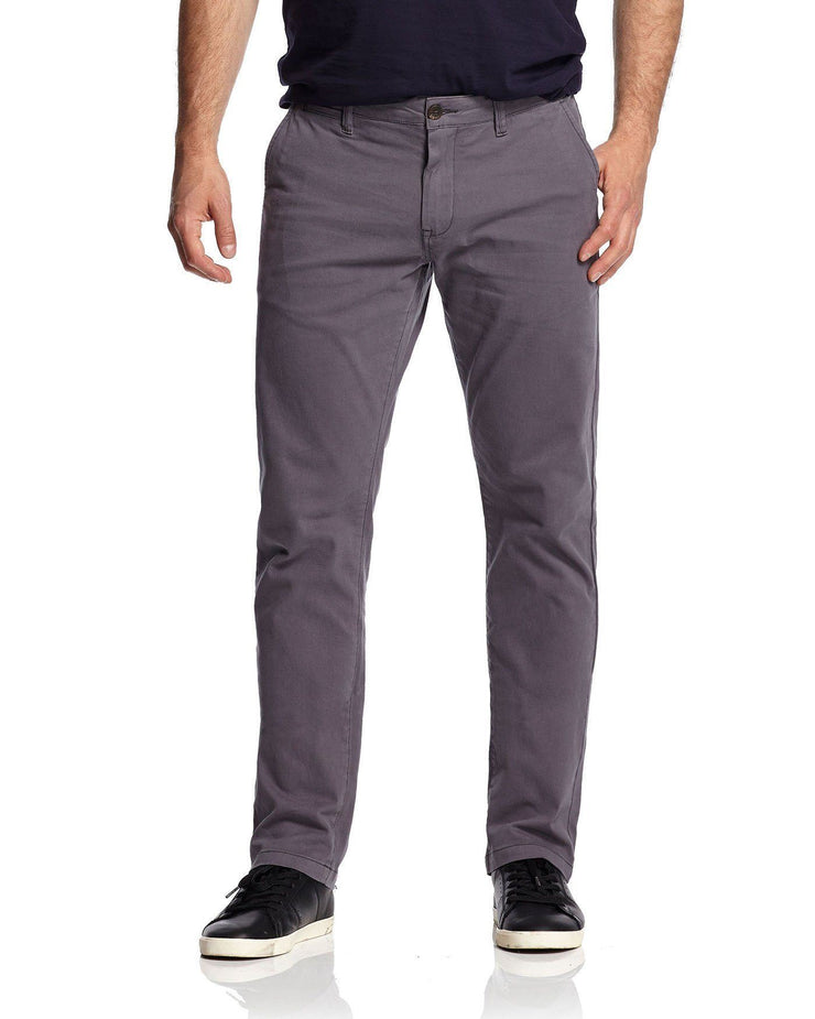 Pants - CASTLETON CHINO - OAKLAND SLIM - GREY
