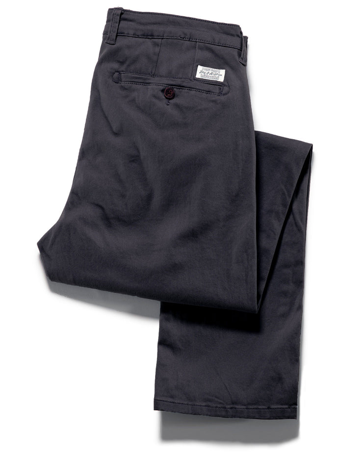 Pants - CASTLETON CHINO - PORTLAND RELAXED - CHARCOAL