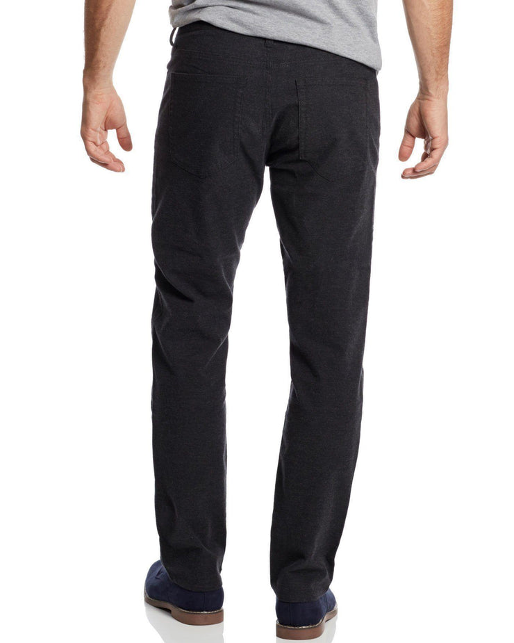 WELLS 5-POCKET FLANNEL PANT - OAKLAND SLIM