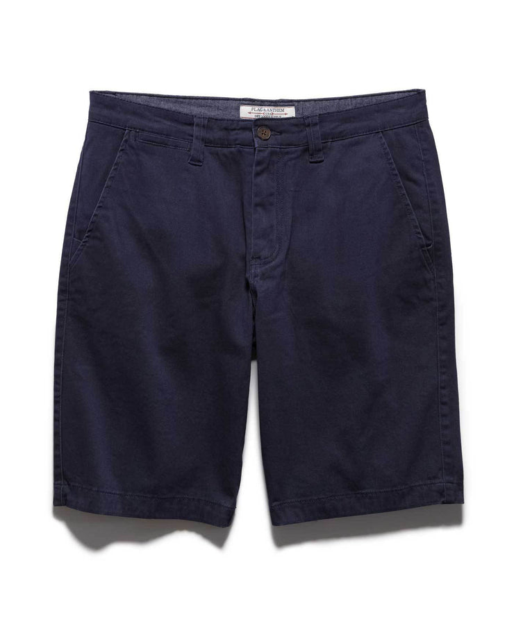 Shorts - MEMPHIS STRETCH SHORT - NAVY