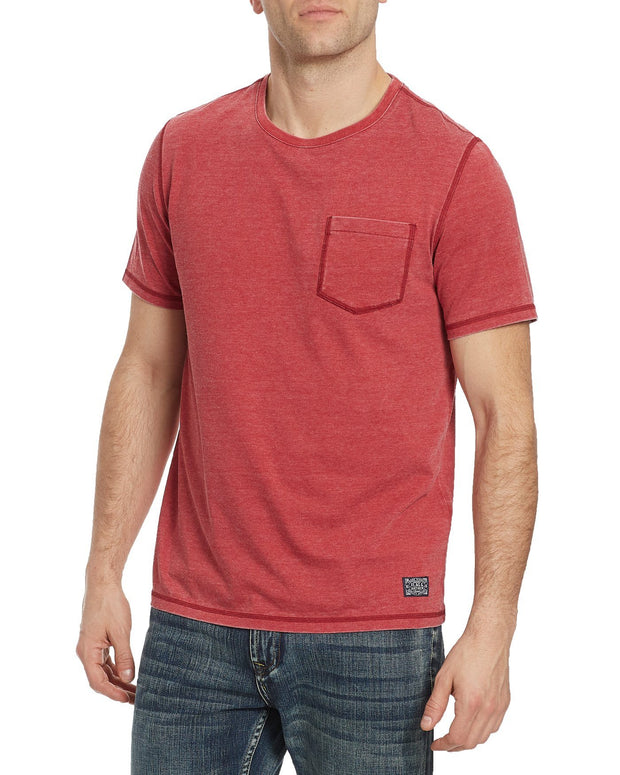 Tees - NORTHFIELD BURNOUT TEE - SCOOTER
