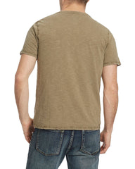 Tees - SPRINGERTON V-NECK TEE - ARMY GREEN