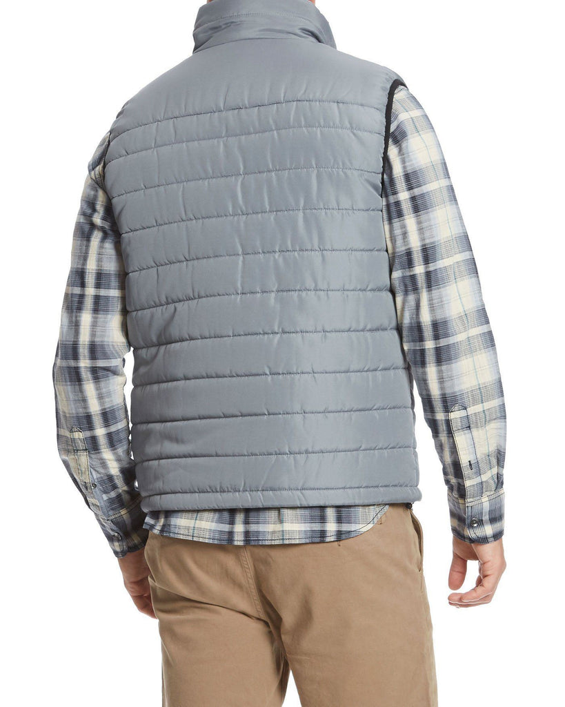 Vests - LANGLEY PUFFER VEST - GREY