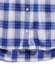 Women's Shirts - GRACEVILLE WOMEN'S SHIRT - BLUE/WHITE (FINAL SALE)