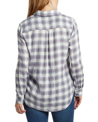 Women's Shirts - KALONA WOMEN'S SHIRT - WHITE MULTI (FINAL SALE)