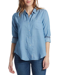 Women's Shirts - WAVERLY WOMEN'S SHIRT - LIGHT BLUE (FINAL SALE)