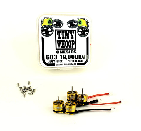 603 19,000kv Tiny Whoop Onesies Brushless Motors - Jiffy Juice