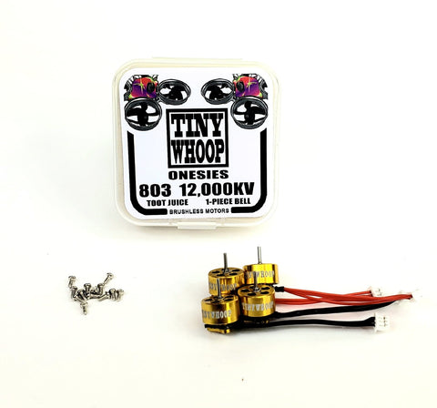 803 12,000kv Tiny Whoop Onesies Brushless Motors - Toot Juice