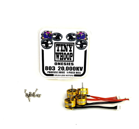 803 20,000kv Tiny Whoop Onesies Brushless Motors - Profuse Juice