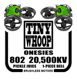802 20,500kv Tiny Whoop Onesies Brushless Motors - Pickle Juice