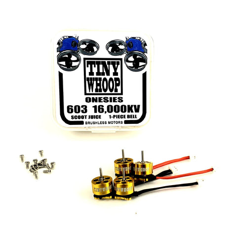 603 16,000kv Tiny Whoop Onesies Brushless Motors - Scoot Juice