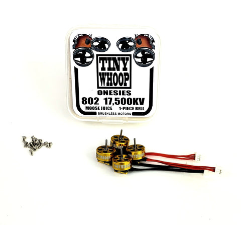 802 17,500kv Tiny Whoop Onesies Brushless Motors - Moose Juice