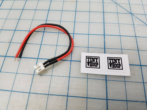 Upgraded Battery Pigtail 2.0 JST- POWERWHOOP Connector - Tiny Whoop