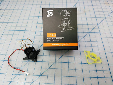 FX805 25mw FPV Pod with Free Upgraded Camera Mount