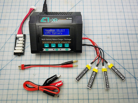 EV-PEAK C1-XR Charger - High Voltage Lipo Capable
