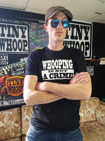 T-Shirt - WHOOPING IS NOT A CRIME