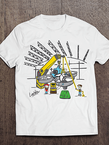 Whoopie Hangar T Shirt - Limited Edition for Kickstarter Backers Only!