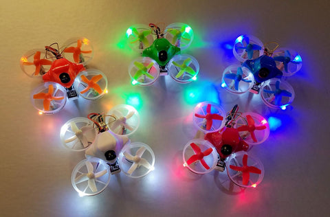 Tiny Whoop Racer with INSTALLED LEDS - Awesome Sauce Edition - Tiny Whoop