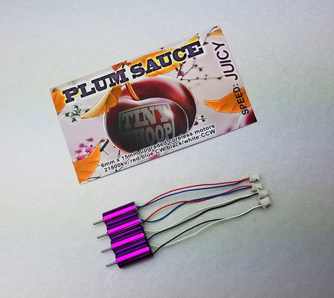 Plum Sauce Motors - 6x15mm 21800kv - Tiny Whoop
