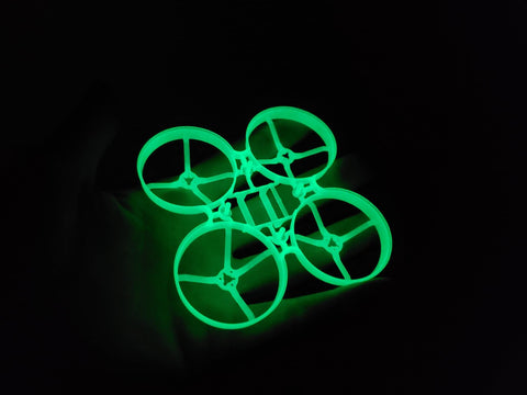 Fluorescent V2 Frame for Mobula6/7- glow in the dark - Tiny Whoop