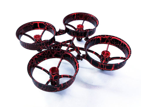 Red Crackle Cockroach Frame - Tiny Whoop