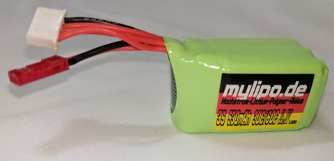 MyLipo 3S 530 mAh 30/60c LiPo Battery