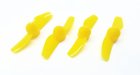 Yellow Biblade Props - 31mm - Tiny Whoop