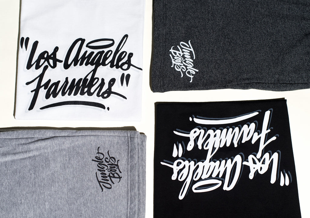 Los Angeles Farmers Halo Tee and Jungle Boys Sweatshorts