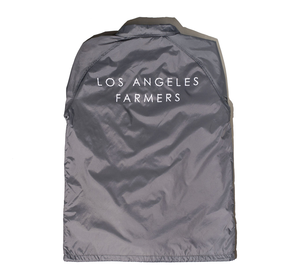 Los Angeles Farmers Windbreaker in Light Grey