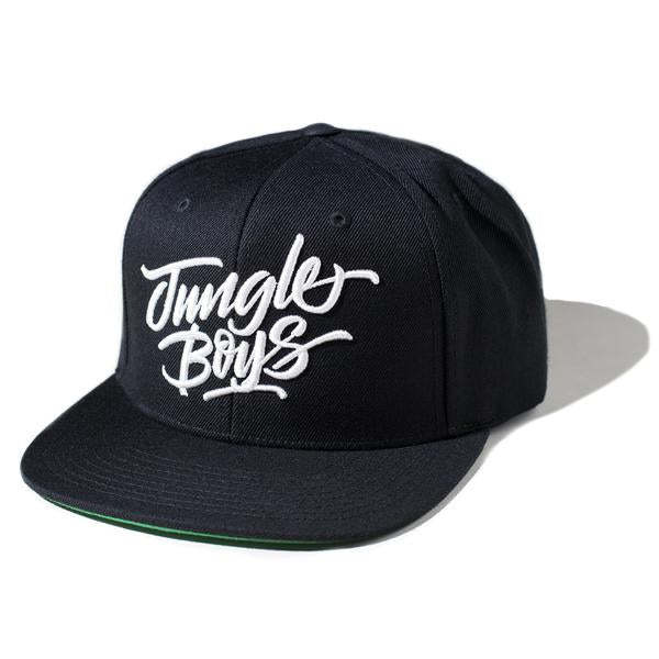 Stacked Snapback (Black/White)