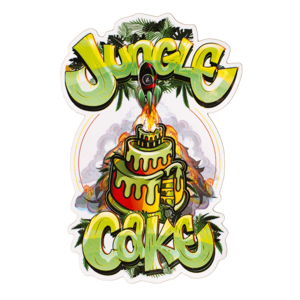 Jungle Cake Sticker