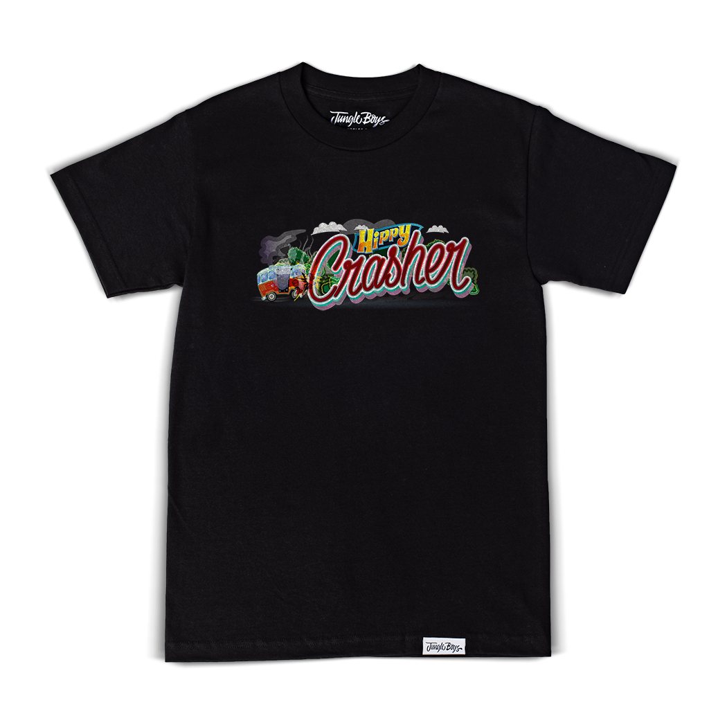 Hippy Crashers Tee (Black)