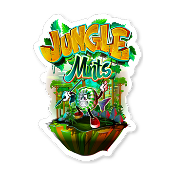 Jungle Mints Sticker