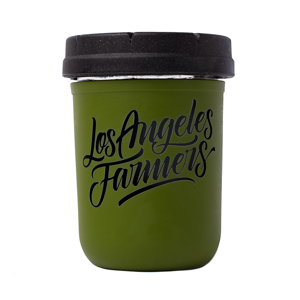 Los Angeles Farmers Medium Re:stash Jar (Assorted Colors)