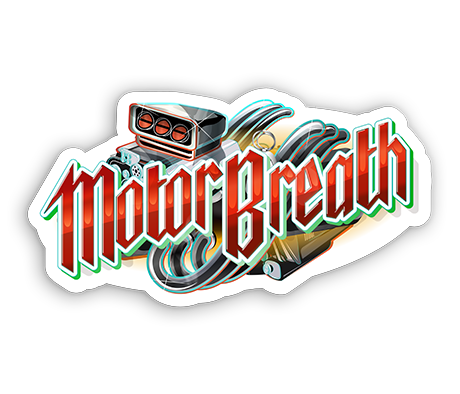 Motorbreath Sticker