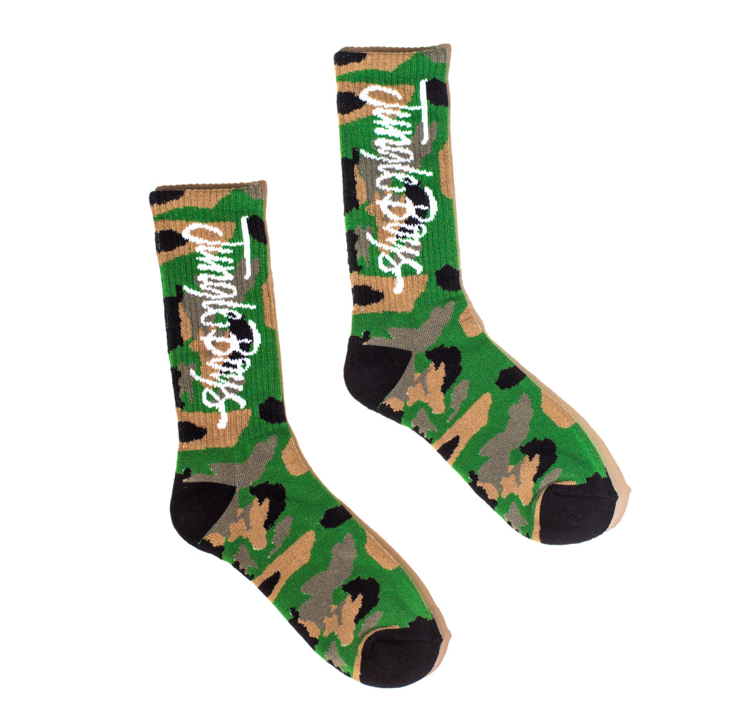 Jungle Boys Socks (Camo/Black)