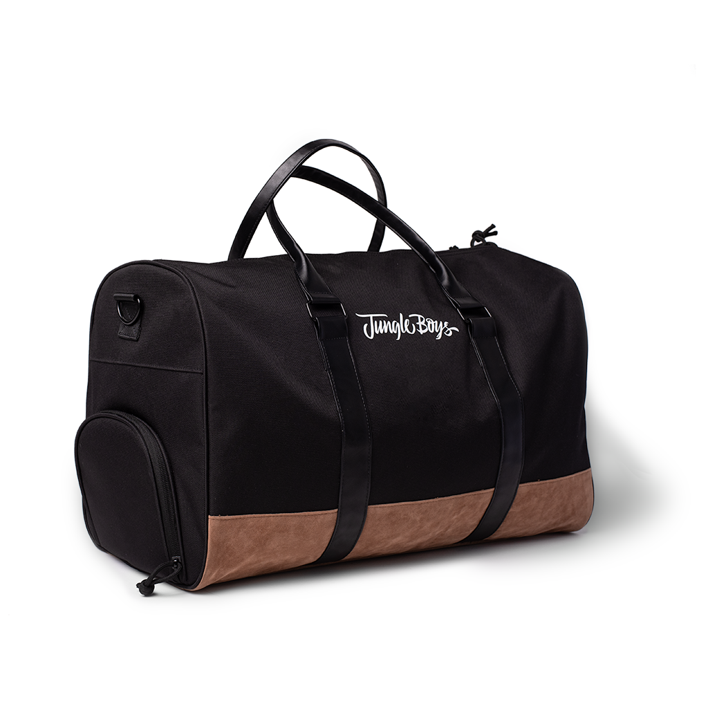 Stacked Duffel Bag (Black)