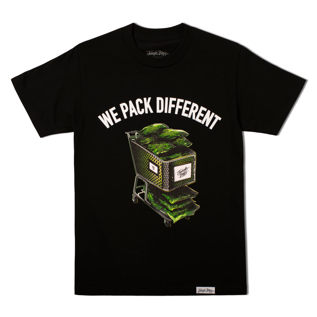We Pack Different Tee (Black)