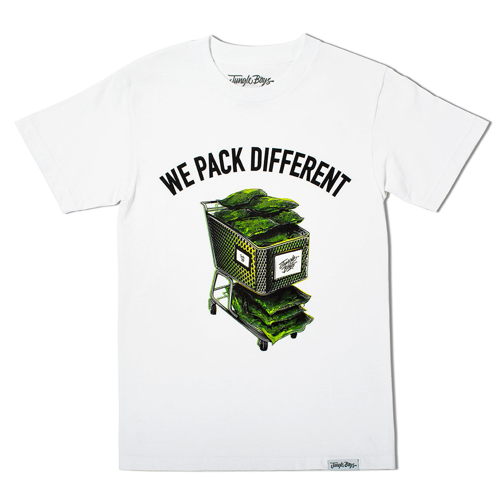 We Pack Different Tee (White)