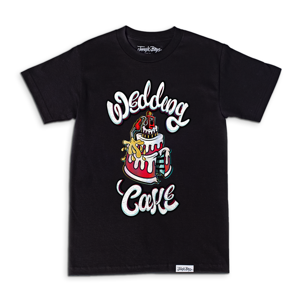 Wedding Cake Tee (Black)